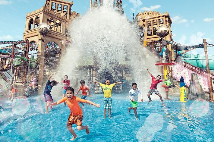 Yas Island Waterpark in Dubai