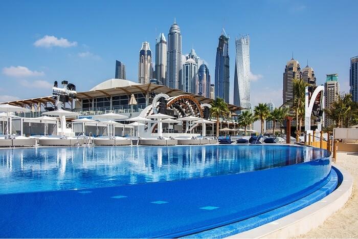 famous beach destination dubai