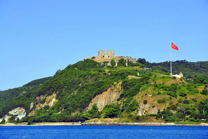 Beautiful castles of Istanbul