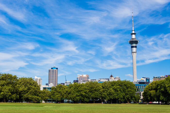 Mesmerizing Sky tower of Auckland