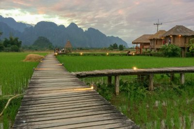 Splendid Villas In Laos