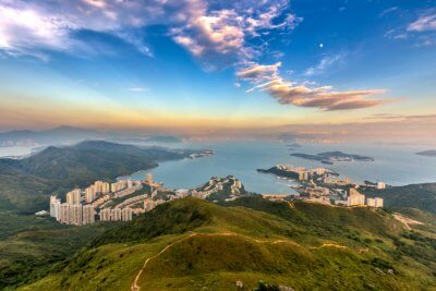 Wonderful Discovery Bay in Hong Kong