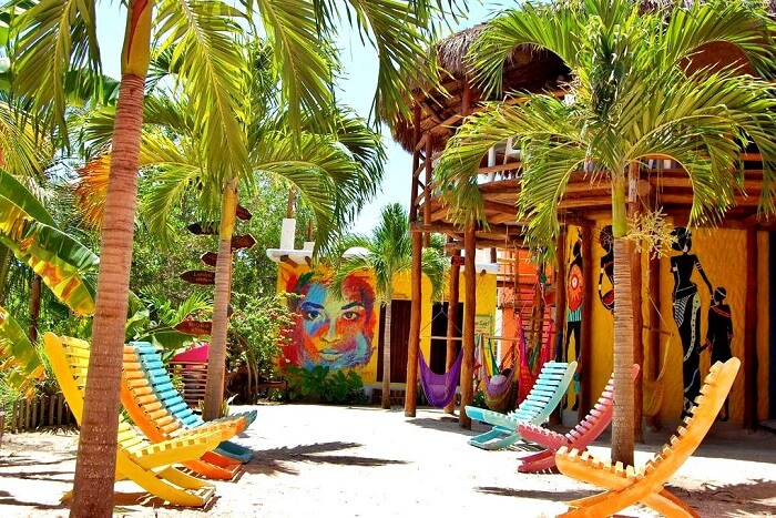 Beautiful hostels of Mexico