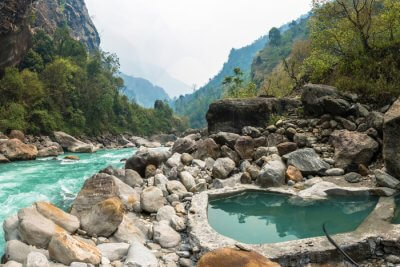 Awesome experiences of Hot Springs In Nepal