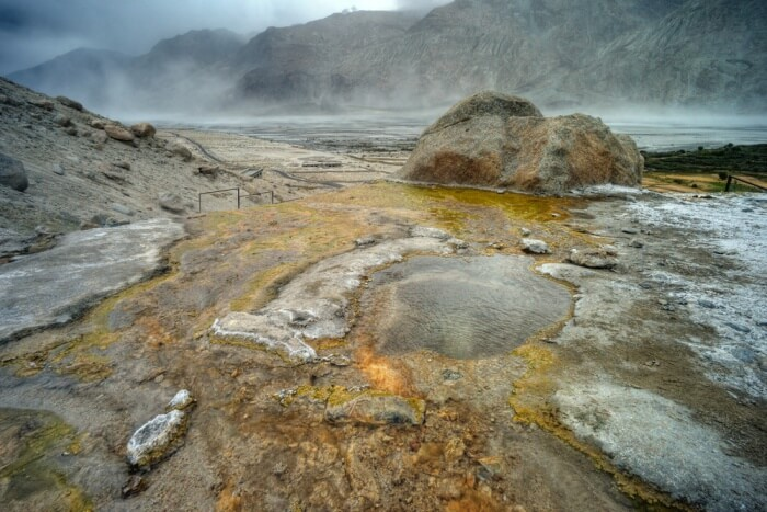 hot springs in bhutan