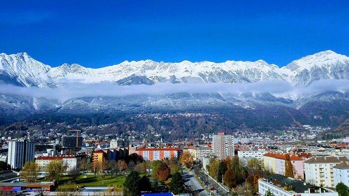 Innsbruck Austria Tyrol Alps Landscape