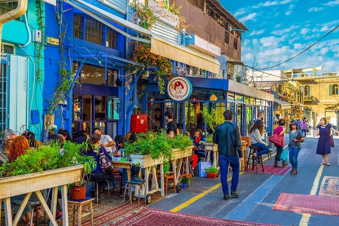 israel cafes cover