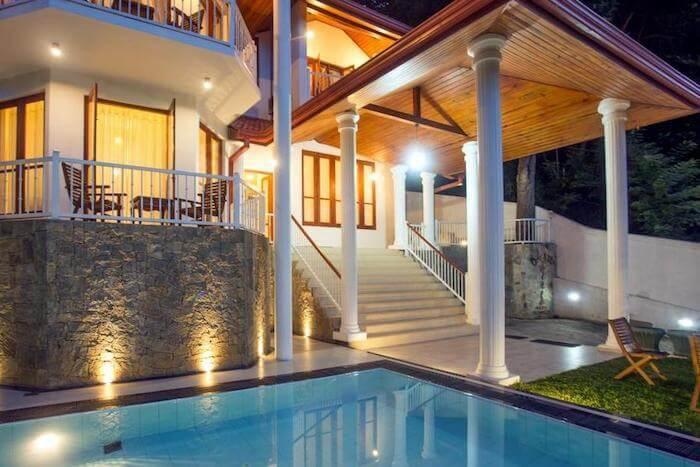popular luxury villas in Kandy