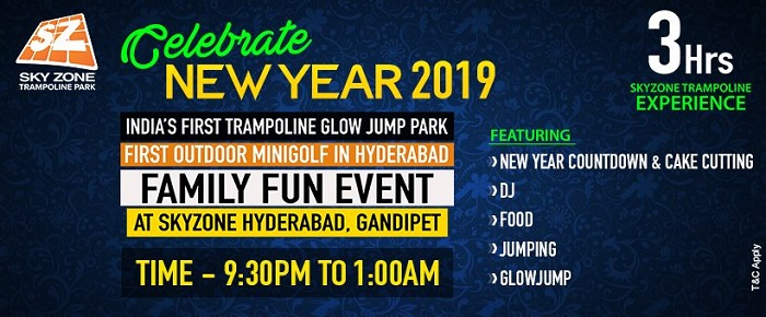 new year event hyderabad