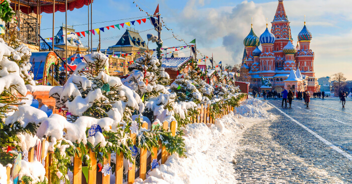 Russian Christmas Calendar 2021 Here Is Where You Should Spend Christmas In Russia In 2021