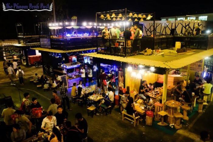 Jet's Container Night Market