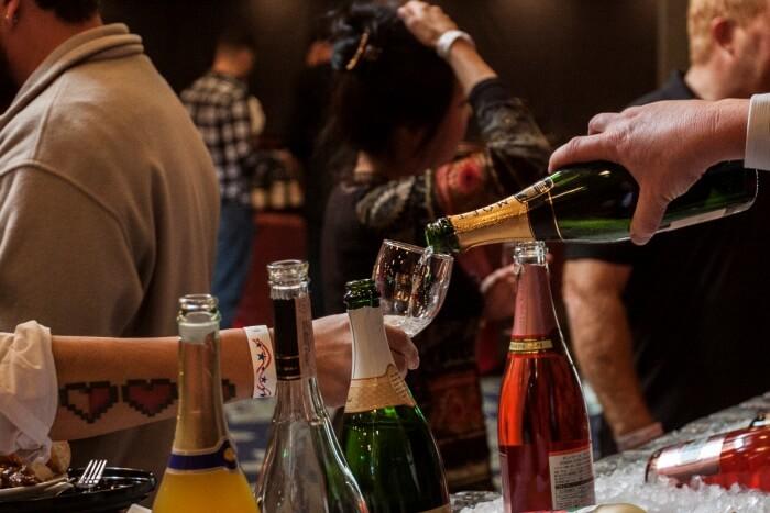 Red, White & Food Wine Festival provides sweet, sour social scene for station residents