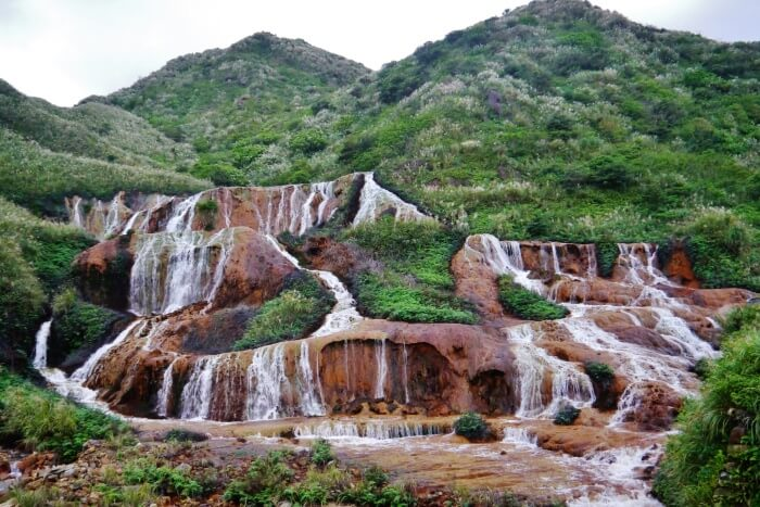 Visit the Golden Waterfall