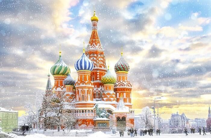 winter season in russia