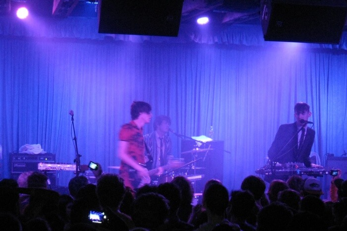 the Crescent Ballroom