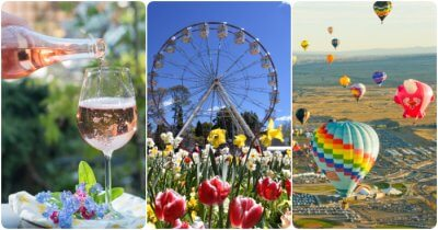 a collage of canberra