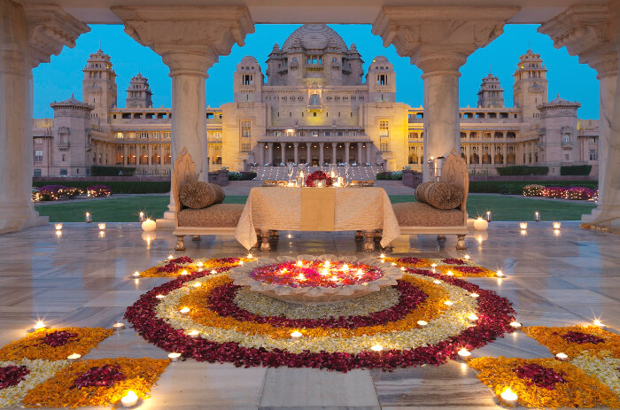 umaid bhawan palace  jodhpur  an iconic setting for your