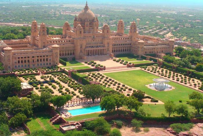 the gorgeous umaid bhawan palace