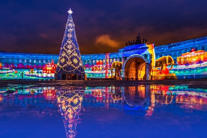 What Makes Christmas In Saint Petersburg A Joyous Affair