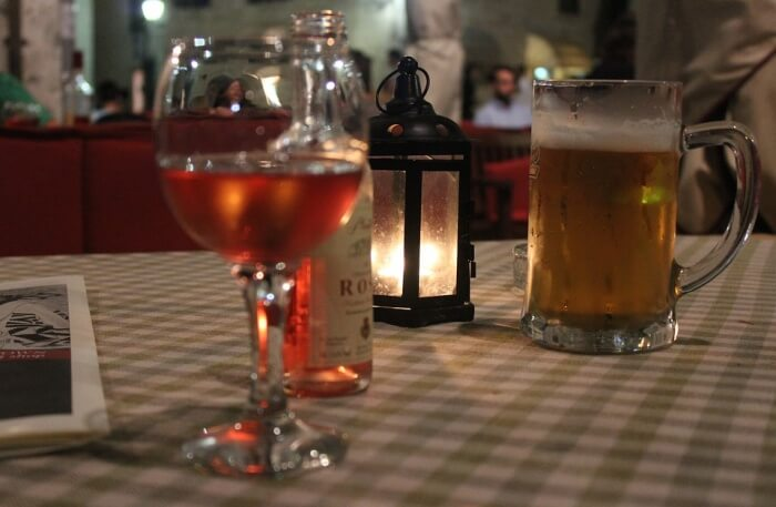 Beer To Wine Candles