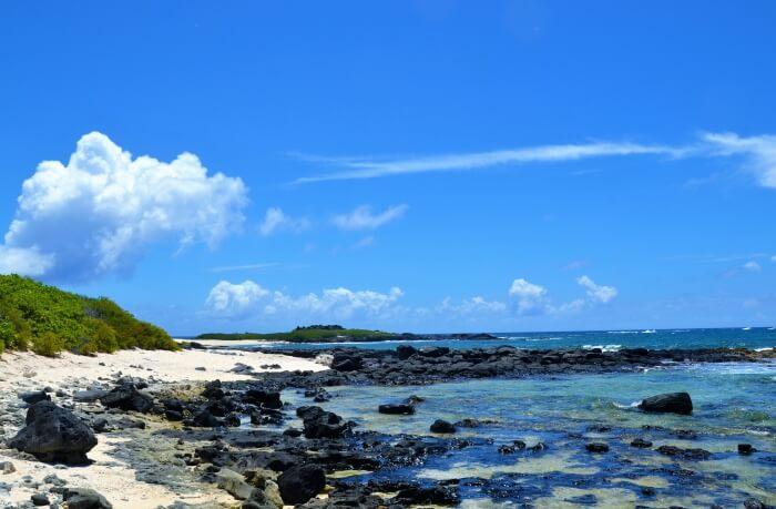 About Ilot Gabriel Beach