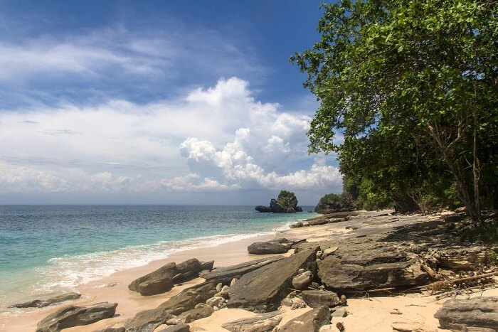 About Padang Padang Beach