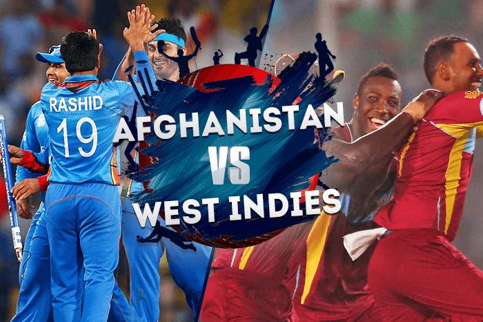 Afghanistan vs West Indies