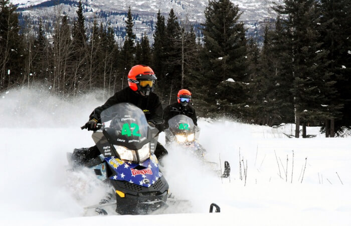 Alaska Snowmobiling Tours