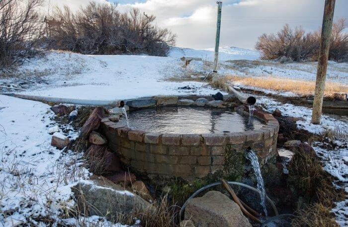 Alkali Hot Springs