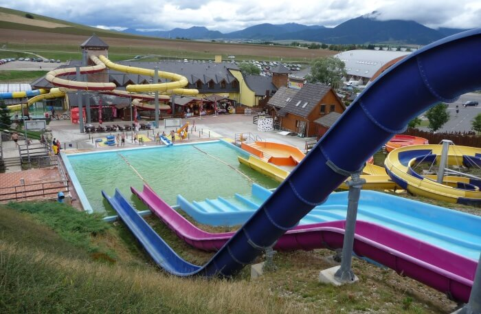 Aquapark view