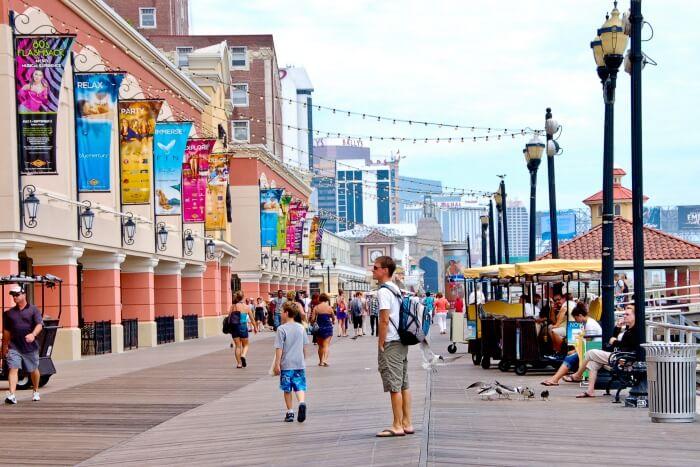 Atlantic City The Boardwalk