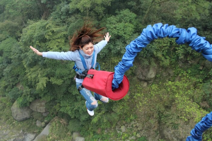 Awesome Bungee Jump