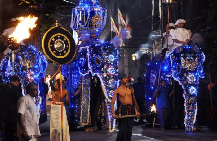 Be A Part Of Duruthu Perahera Festival