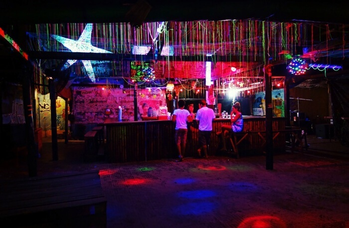 Nightlife Bar Illuminated Party Night