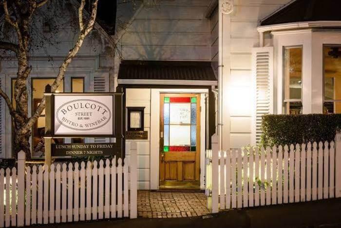 Boulcott Street Bistro Restaurant