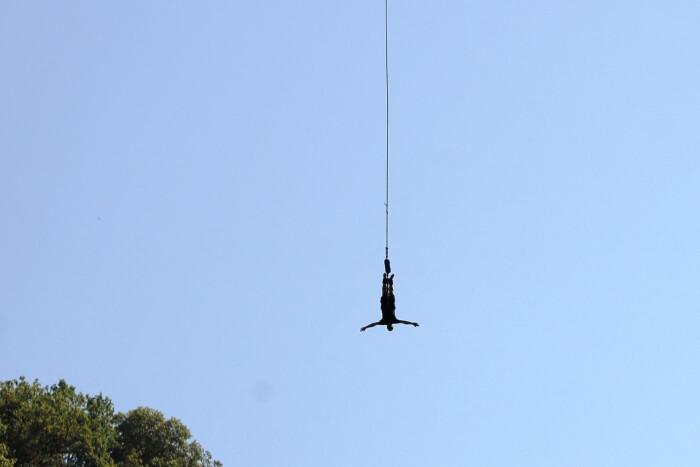 Bungee Jumping Sagana, Kenya