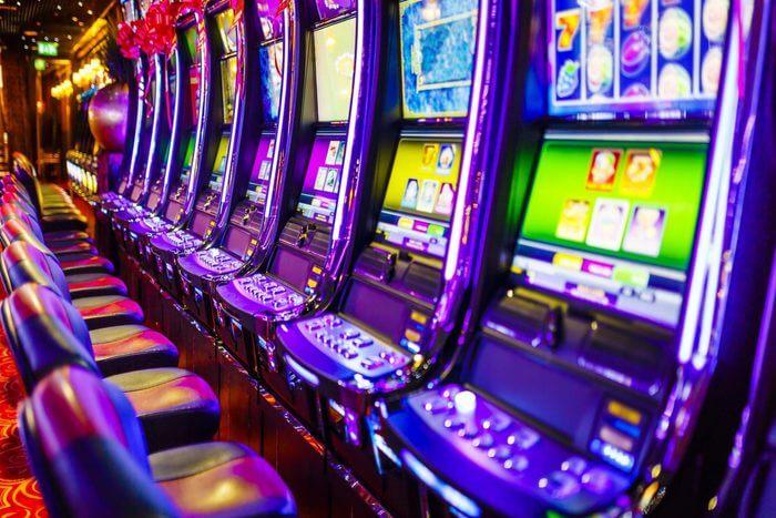 Inside view of Cache Creek Casino