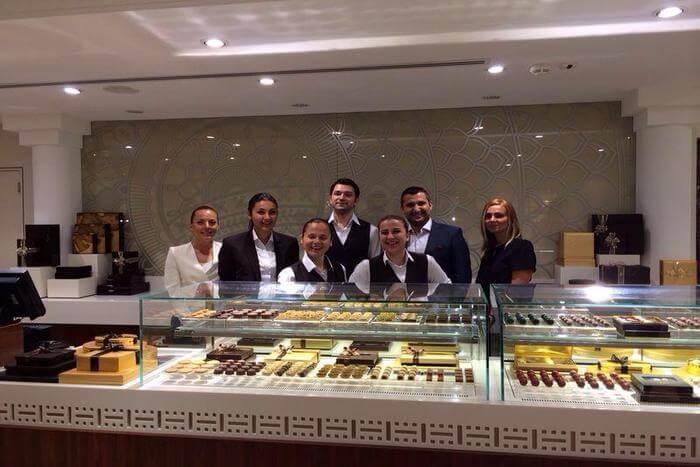 Café staff