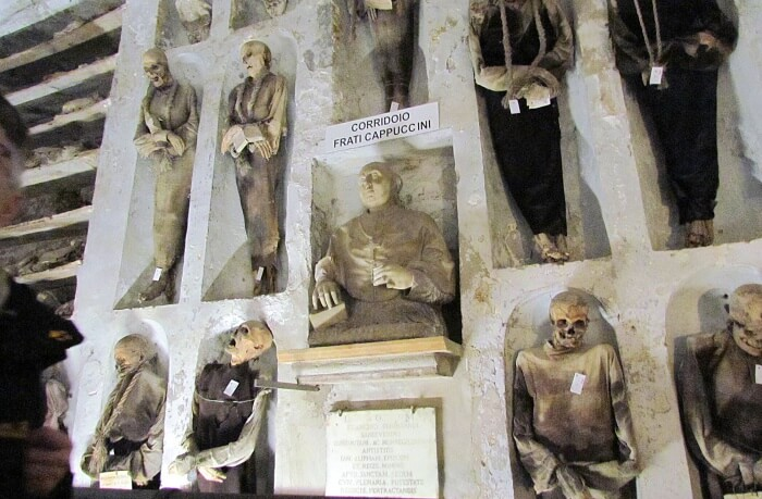 Capuchin Catacombs in Palermo