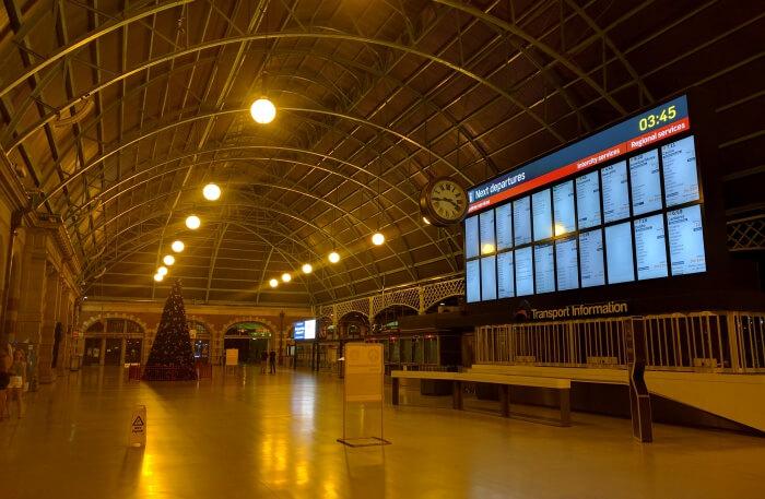 Central Station Ghost Platform, Central Station