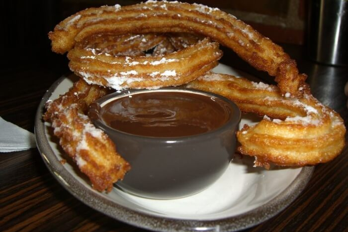 Chocolate and Churros divine