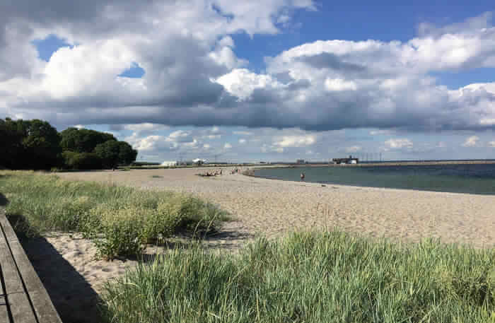 Copenhagen Sandy beach