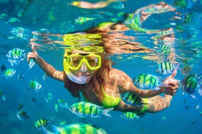 Snorkeling In Japan