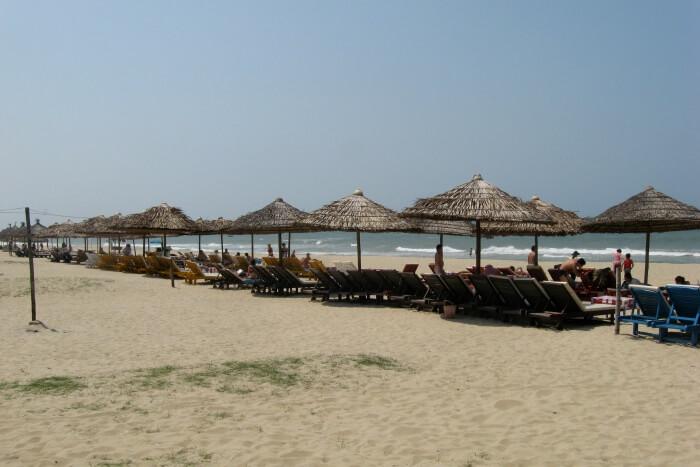 Cua Dai Beach After Erosion