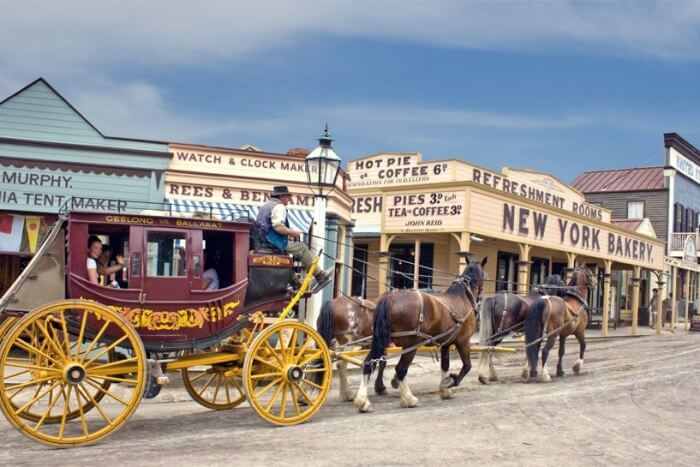 Delve Into History At Sovereign Hill