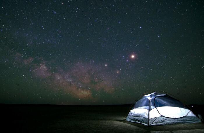 Desert Moon Camp at Jordan Safari