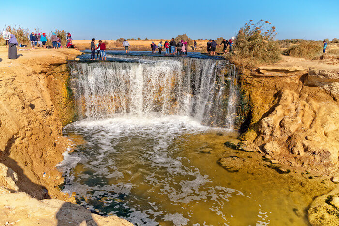 flow of Waterfall