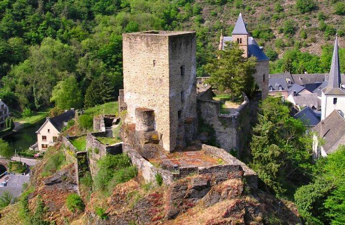 Esch-Sur-Sûre-Castle