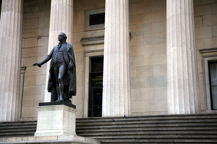Federal Hall front view