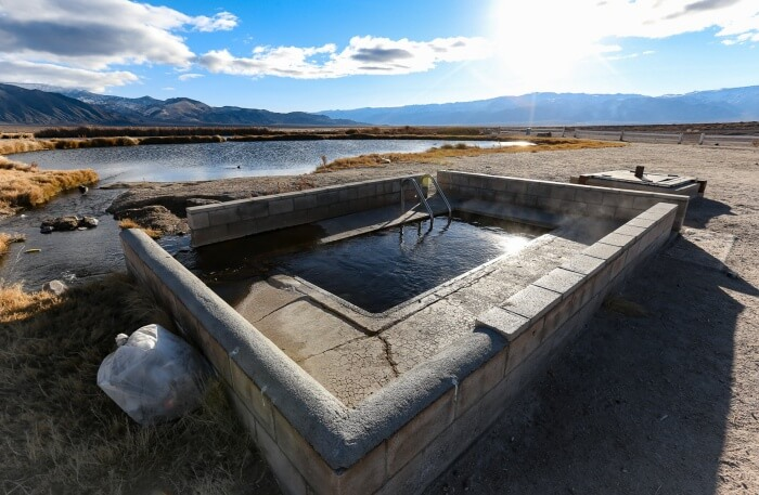 Fish Lake Valley Hot Springs